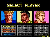 The Combatribes Arcade Select player.