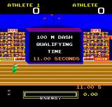 Hunchback at the Olympics Arcade 100m Dash.