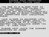 Escape From Manhattan ZX81 Instructions, pt 3
