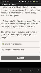The Nightmare Maze Android The first choice