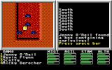 Mars Saga DOS Discovering a box of explosives down in the mines.