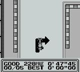 Fastest Lap Game Boy Arrows tell you when corners coming