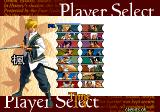The Last Blade 2 Arcade Player Select.