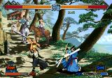 The Last Blade 2 Arcade Using your sword.