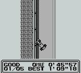 Fastest Lap Game Boy Crashed