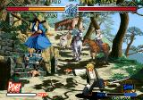 The Last Blade 2 Arcade Jumping out of the way.