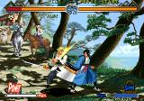The Last Blade 2 Arcade You've been hit again.