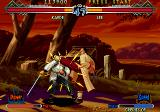 The Last Blade 2 Arcade Kick to the head.