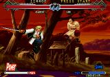The Last Blade 2 Arcade On the attack.
