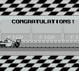 Fastest Lap Game Boy Qualified
