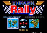 Thrash Rally Arcade Mode Select.