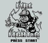 Fire Fighter Game Boy Title