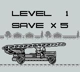 Fire Fighter Game Boy Mission Objectives