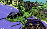 Skyjet Commodore 64 Loading Screen.