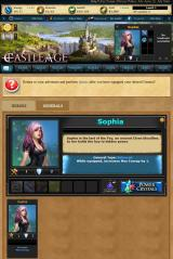 Castle Age Browser Generals - Hello Sophia, can you teach me what I'm supposed to do here?