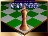 Grandmaster Chess DOS Title screen
