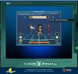 Code Lyoko: Social Game Browser Character creation - Choose a combat style and customize appearance.