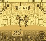 Best of the Best Championship Karate Game Boy One of the kicks you can do