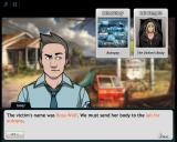Criminal Case Browser Story - The victim has been identified. An autopsy is due.