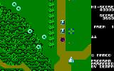 Xevious Sharp X1 Bombing the Grobda tanks