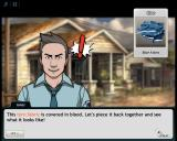 Criminal Case Browser Story - Found a bloody shirt and looks like a new puzzle.