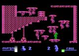 Alchemia Atari 8-bit Oversized bird guarding platforms