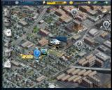 Criminal Case Browser Main map - Travelling to a new crime scene.