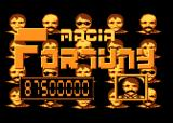 Magia Fortuny Atari 8-bit Title screen