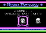 Magia Fortuny Atari 8-bit Choose player face