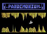 Pandemonium Atari 8-bit Temporary immortality - the bird is white