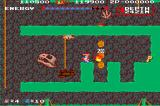 Spelunker II: 23 no Kagi Arcade Jumping rocks? Kill them with fire!