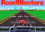 RoadBlasters Arcade Title screen