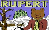 Rupert and the Ice Castle Commodore 64 Loading Screen.