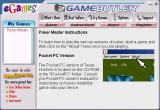 Poker Master Windows There are some generic instructions available via the Game Butler