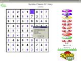 25,000 Sudoku Puzzles Windows A completed game. This shows the end of game score the player has achieved.