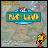 Pac-Land Sharp X68000 Title screen