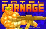 Total Carnage Arcade Title screen