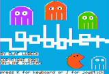 Gobbler Apple II Title screen