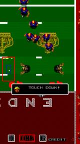 Touchdown Fever Arcade Touch Down!