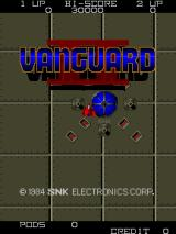 Vanguard II Arcade Title Screen.