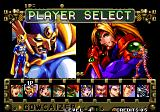 Voltage Fighter Gowcaizer Arcade Player Select.