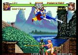 Voltage Fighter Gowcaizer Arcade Flying kick.