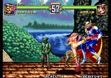 Voltage Fighter Gowcaizer Arcade High Kick.
