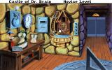 Castle of Dr. Brain DOS The clock room