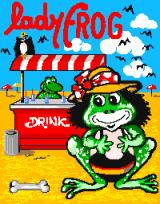 Lady Frog Arcade Title screen