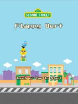 Flappy Bert Browser Title screen