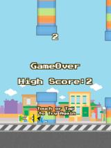 Flappy Bert Browser Woo, a whopping high score of 2