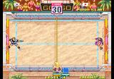 Windjammers Arcade Throw the frisbee.
