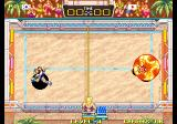 Windjammers Arcade Using a special power.