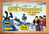 The Beatles: Save Pepperland Browser Title screen